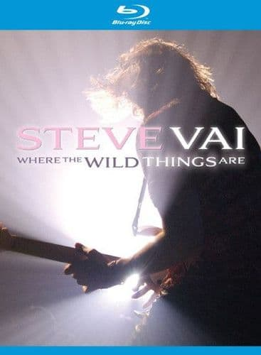 Steve Vai<br>Where The Wild Things Are<br>2Blue-ray, Multichannel,